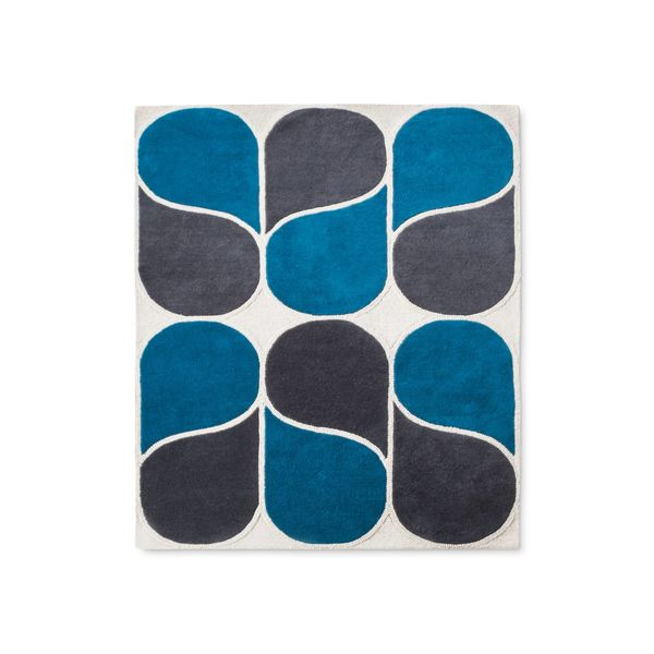 Hand-tufted wool rug, $189.99