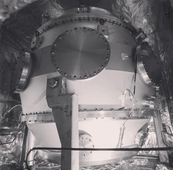 The inner vacuum vessel of Tokamak Energy's