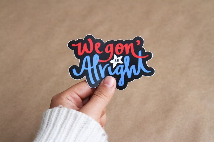 <p>These stickers, designed by Jane Li, are helping her raise money for the ADAA.</p>
