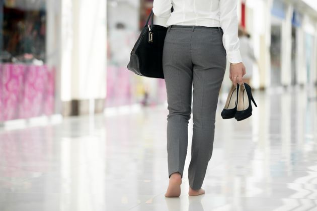Women are being left embarrassed and in pain by rules forcing them to wear heels at work, the report