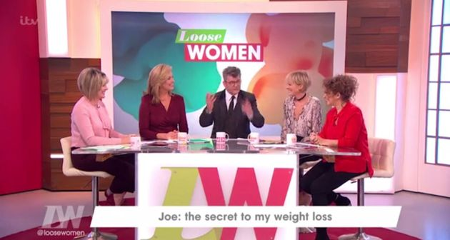 Joe Pasquale made a number of comments about Gemma on 'Loose