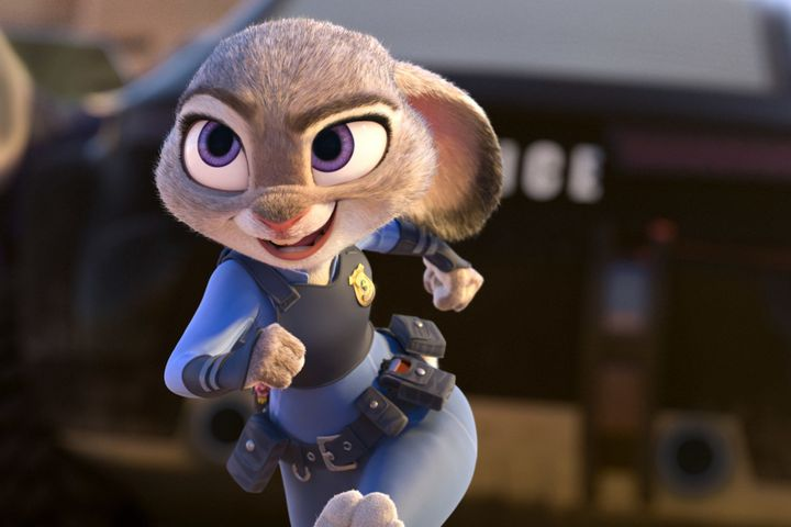 "In ""Zootopia,"" Judy Hopps confronts some of her own prejudices while trying to establish her career as a police off"