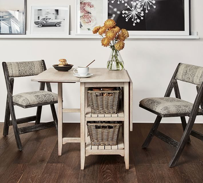 Pottery barn 39 s small spaces collection is great news for apartment dwellers huffpost - Furnitures for small spaces collection ...
