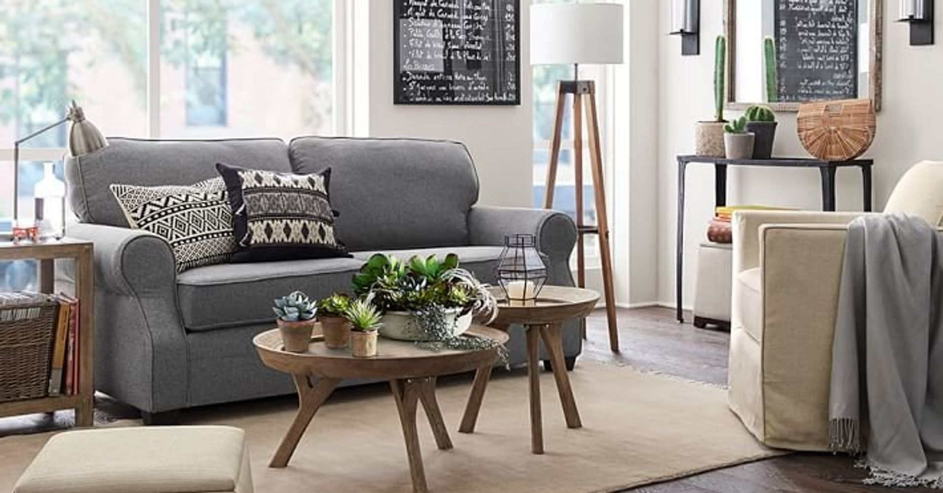 Pottery barn 39 s small spaces collection is great news for for Pottery barn small spaces furniture