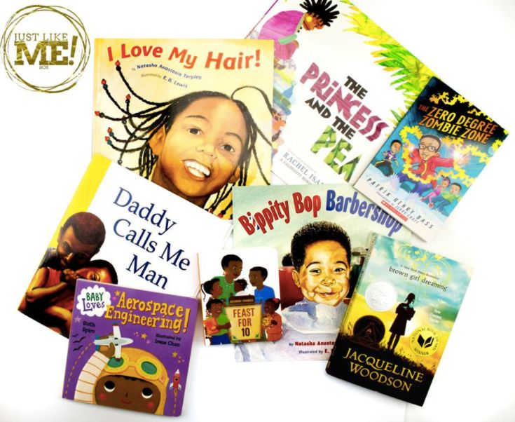 A sampling from the Just Like Me! Box