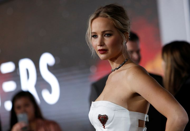 Actress Jennifer Lawrence was one of several celebrities who complained that their private photos had been stolen and po