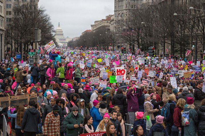 Women's March on Washington.