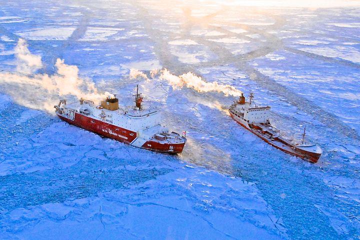 U.S. Coast Guard in Arctic Seas