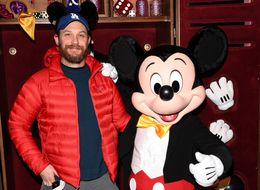 Tom Hardy Wears Mickey Mouse Ears At Disneyland Paris. Pulls It Off.