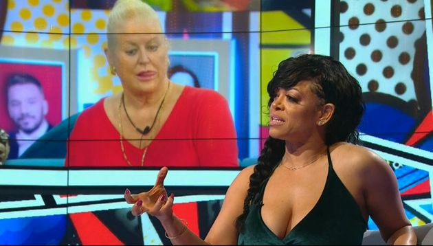Stacy clashed a lot with Kim Woodburn in the