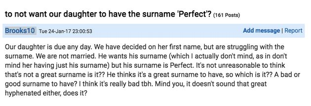 Mum Doesn't Want To Give Her Baby Girl Her Partner's 'Perfect' Surname, Asks If She's Being