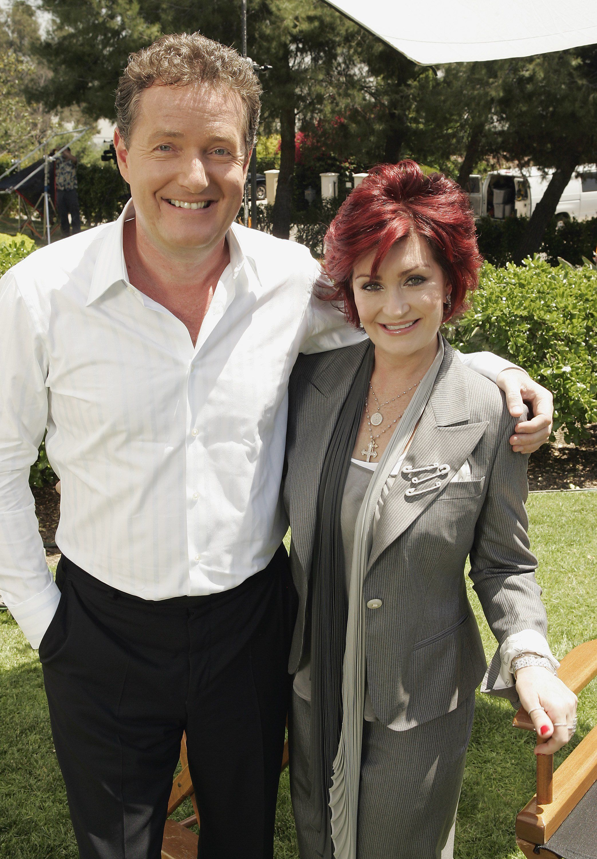Piers and Sharon have known each other for a number of