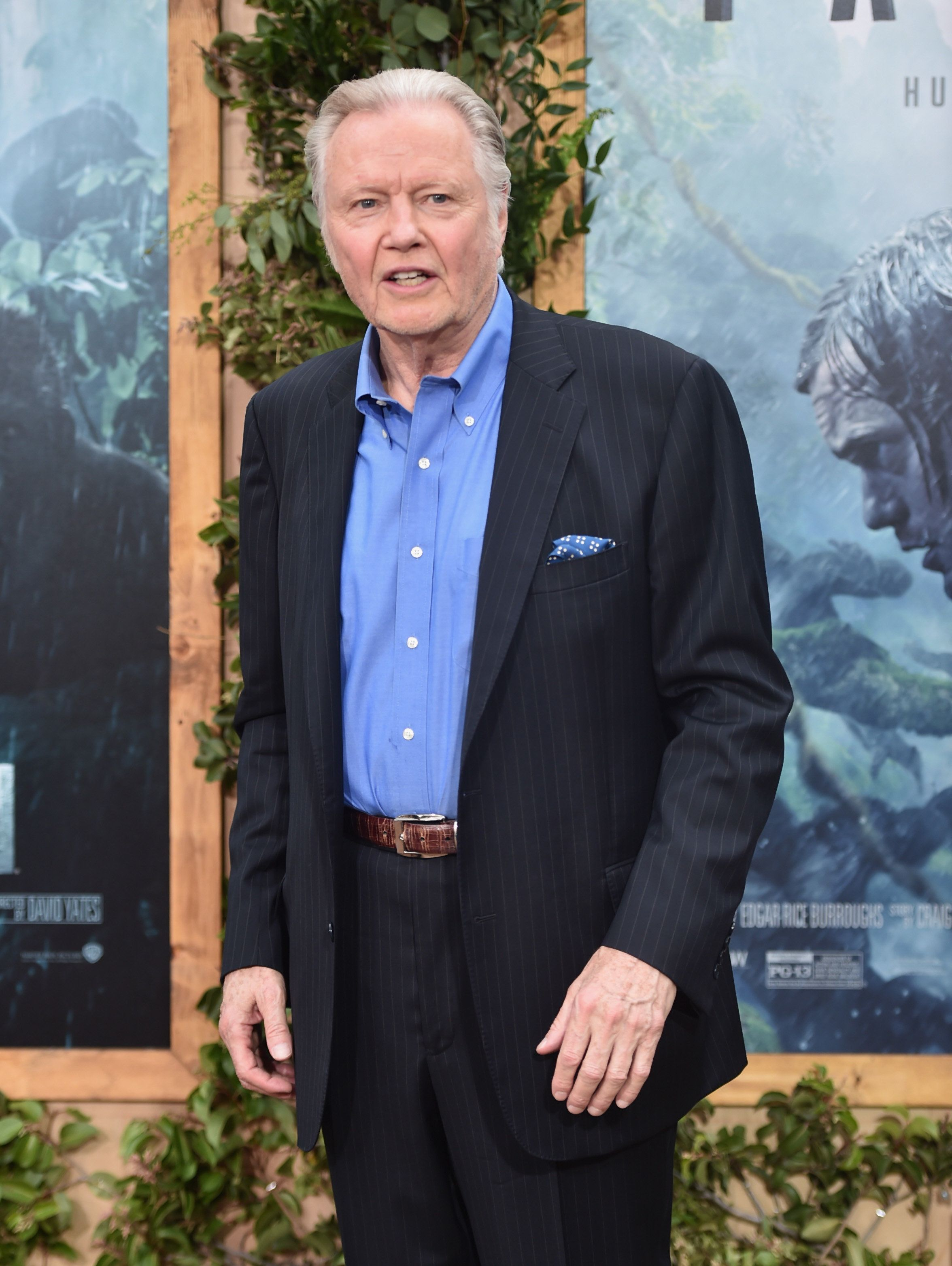 HOLLYWOOD, CA - JUNE 27:  Actor Jon Voigt attends the premiere of Warner Bros. Pictures' 'The Legend of Tarzan' at Dolby Theatre on June 27, 2016 in Hollywood, California.  (Photo by Alberto E. Rodriguez/Getty Images)