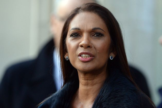 Gina Miller outside the Supreme Court on