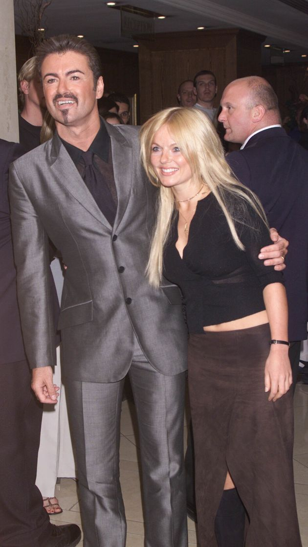 Geri with her great friend, George