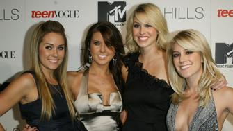 Lauren Conrad, Audrina Patridge, Whitney Port and Heidi Montag (Photo by M. Tran/FilmMagic)