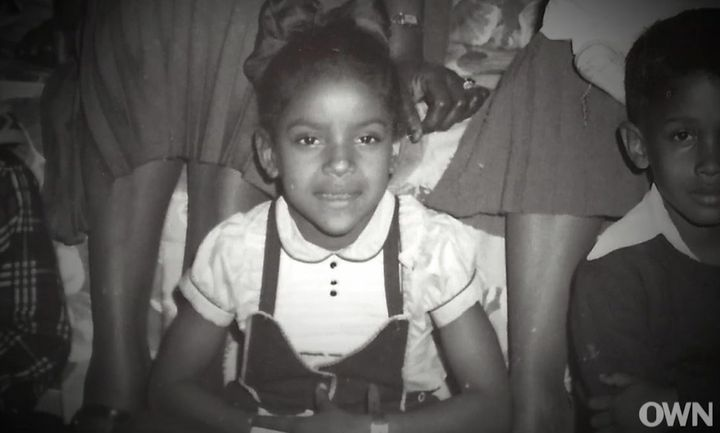 A young Phylicia Rashad.