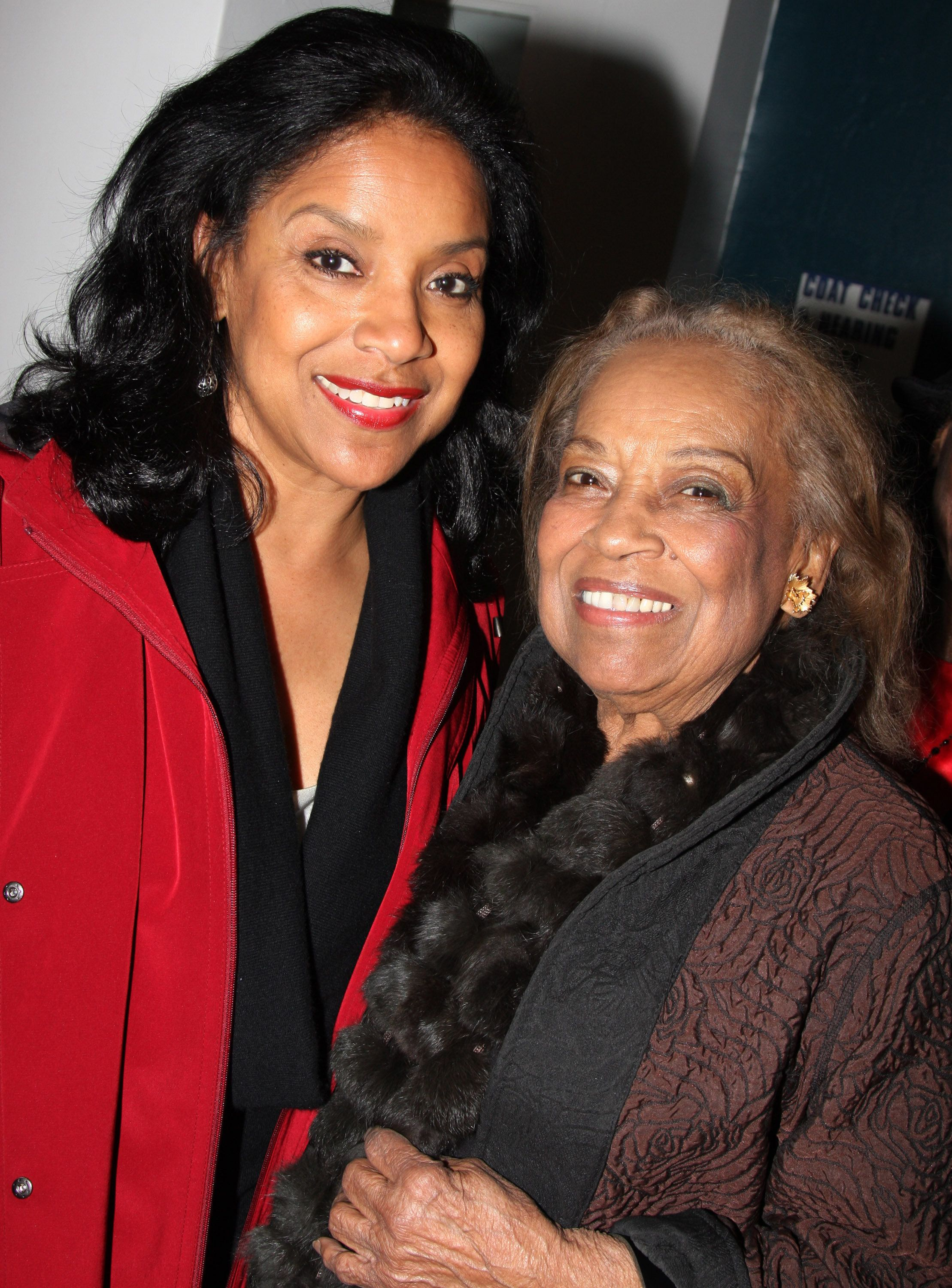 Phylicia Rashad and mother Vivian Ayers attend the Off-Broadway opening night of Ruined at the New York City Center on February 10, 2009 in New York City. (Photo by Bruce Glikas/FilmMagic)