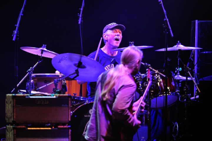 Butch Trucks of The Allman Brothers Band performs at Beacon Theatre on March 1, 2013, in New York City.