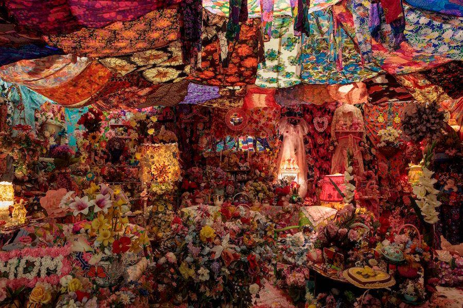 """The Garden,"" 1996-1998, mixed media installation"