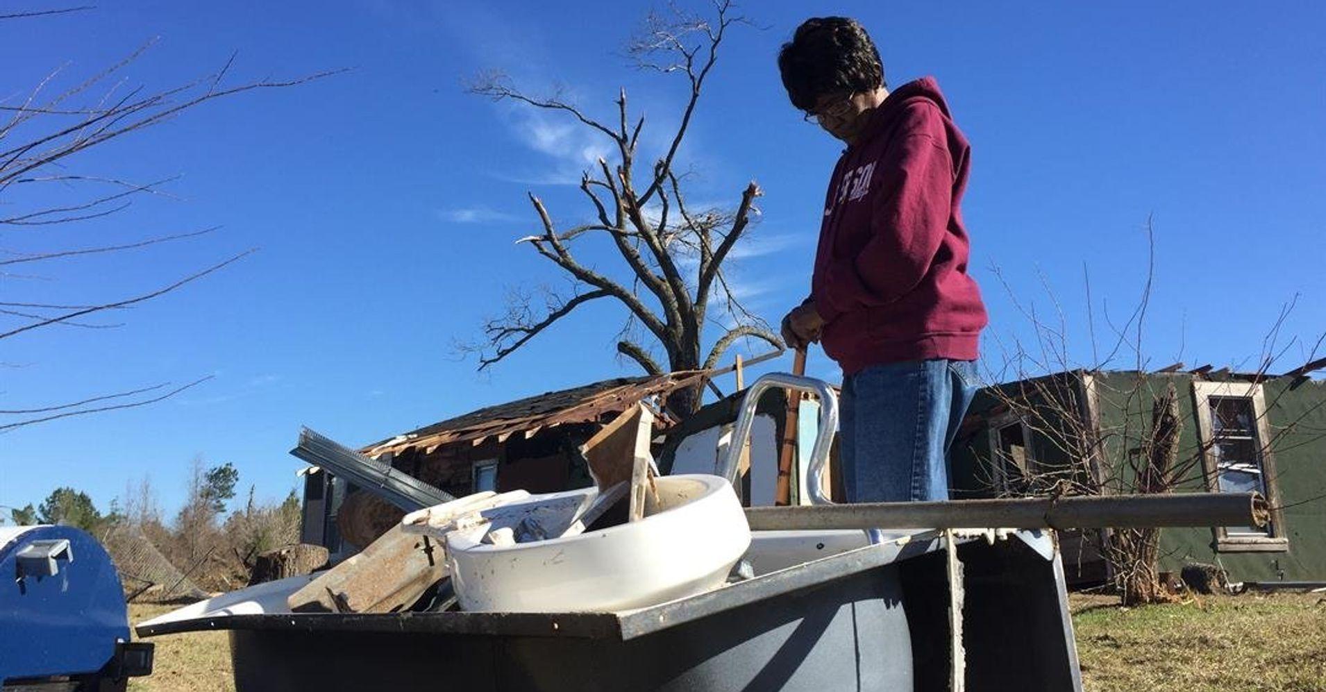 75-Year-Old Woman Survives Wild Tornado Bathtub Ride   HuffPost