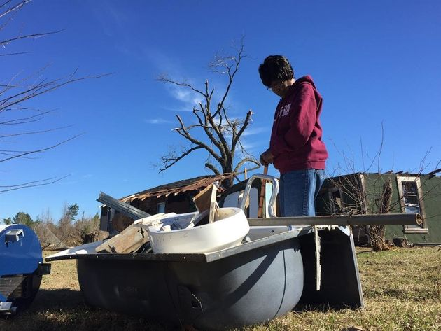 Woman Flies Through Deadly Tornado In Her Bathtub, Survives Unhurt