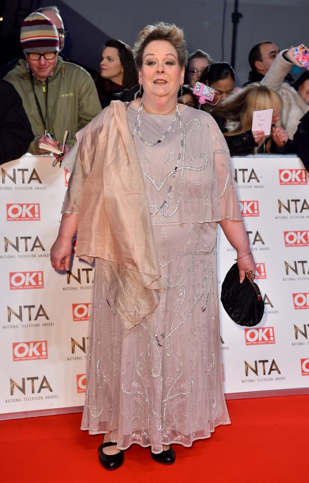 Anne Hegerty at the