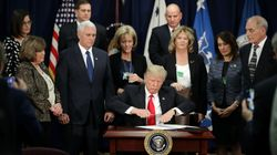 Donald Trump Signs Executive Orders To Build Border Wall, Strip Funding For Sanctuary