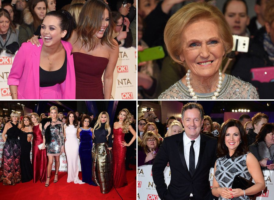 NTAs Red Carpet 2017: All The Celebrity Arrivals At The National Television