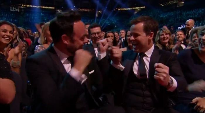 NTAs Winners 2017: Ant And Dec Lead With Three Gongs, Plus Full List Of National Television Awards Handed