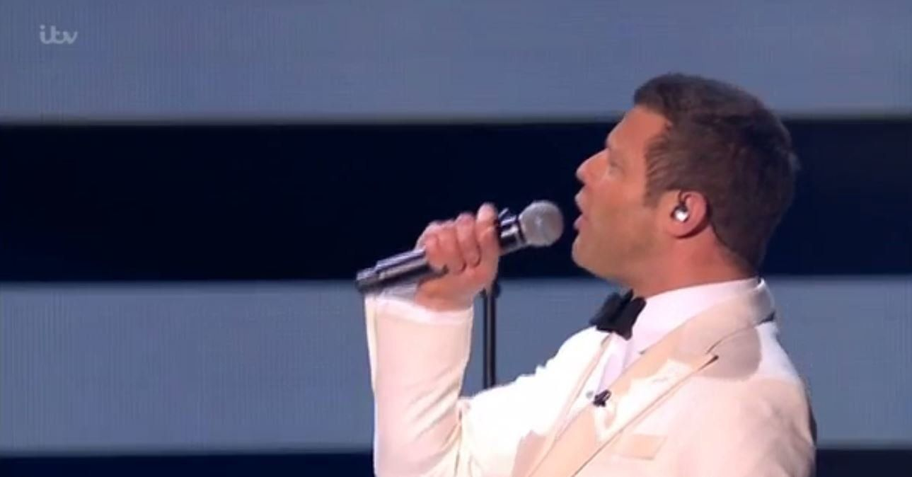 Dermot O'Leary Sang At The NTAs, And Simon Cowell May Have Something To Say About