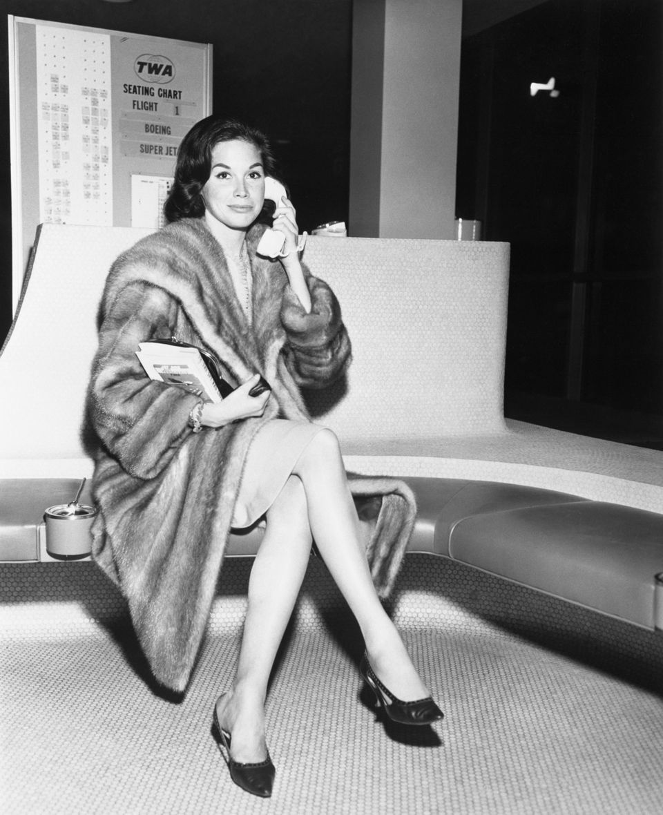 Mary Tyler Moore in 1962.