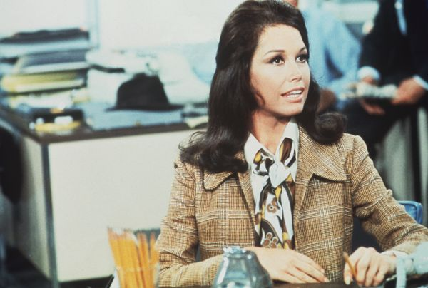 Mary Tyler Moore in a scene from 'The Mary Tyler Moore Show' in 1970.