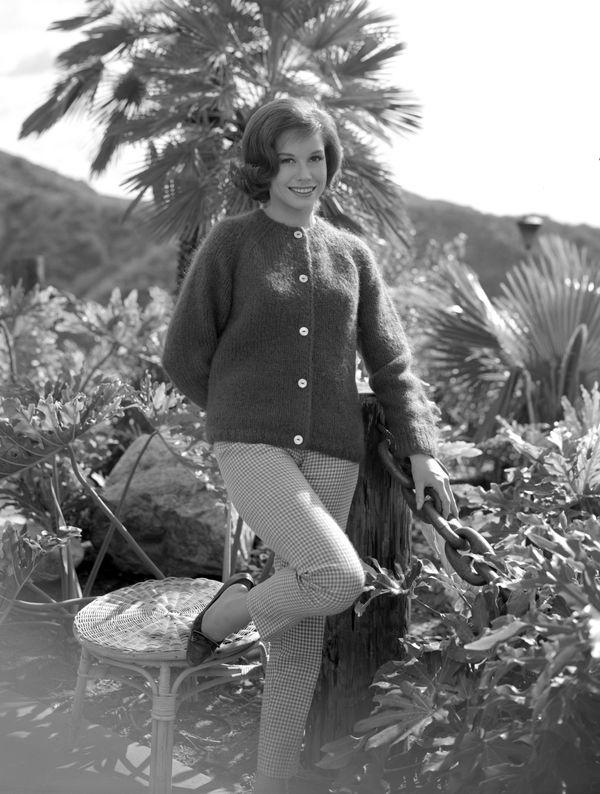 "Mary Tyler Moore as Laura Petrie in ""The Dick Van Dyke Show"" in 1964."