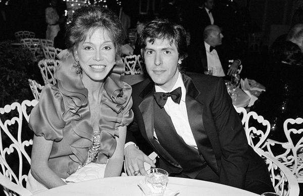 Mary Tyler Moore and her husband Dr. Robert Levinein 1983.
