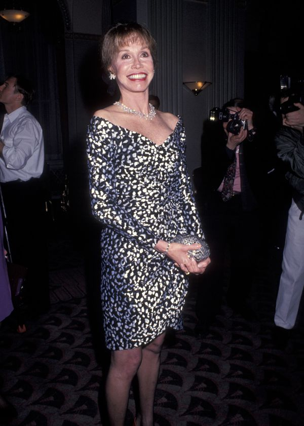 Mary Tyler Moore attends the Museum of Television & Radio Celebrates the Announcement of Their New Building to Open in th