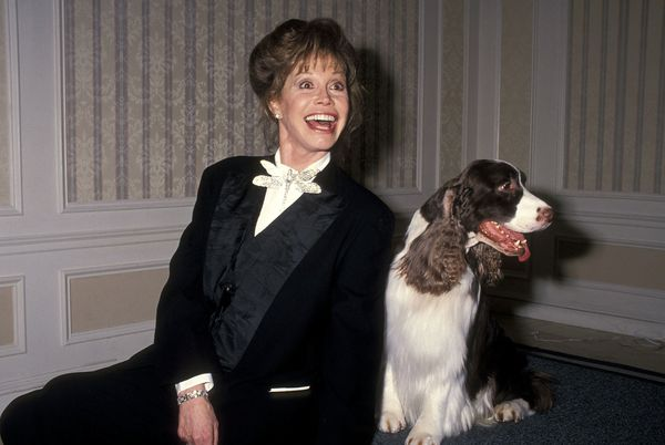 Mary Tyler Moore attends the Seventh Annual Hill's Science Diet Winner's Circle Awards on February 5, 1993 at the New York Hi