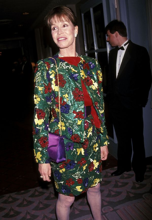 Mary Tyler Moore attends the Museum of Television & Radio Honors Mike Nichols and Elaine May on April 15, 1992 at the Wal