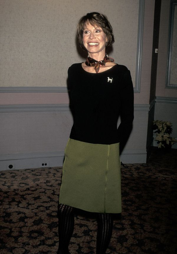 Mary Tyler Moore attends the New York Women in Film & Television's 16th Annual Muse Awards on December 17, 1996 at the Ne
