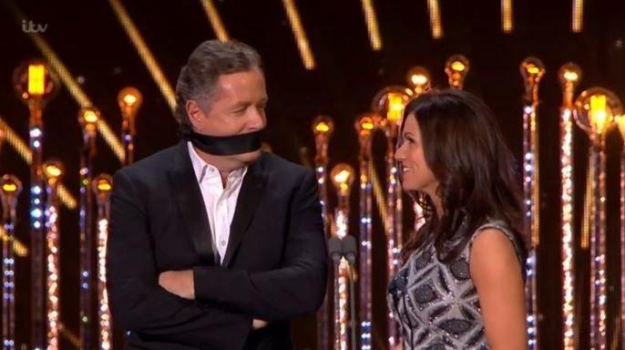 NTAs 2017: Susanna Reid Gags Piers Morgan, Becoming A National Hero In The