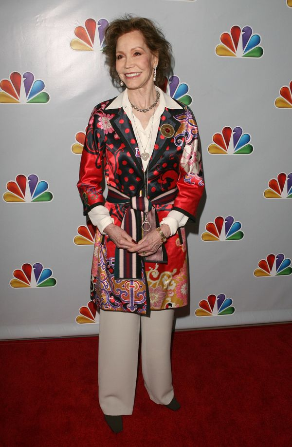 Mary Tyler Moore attends Betty White's 90th Birthday: 'A Tribute To America's Golden Girl' at the Millennium Biltmore Hotel o