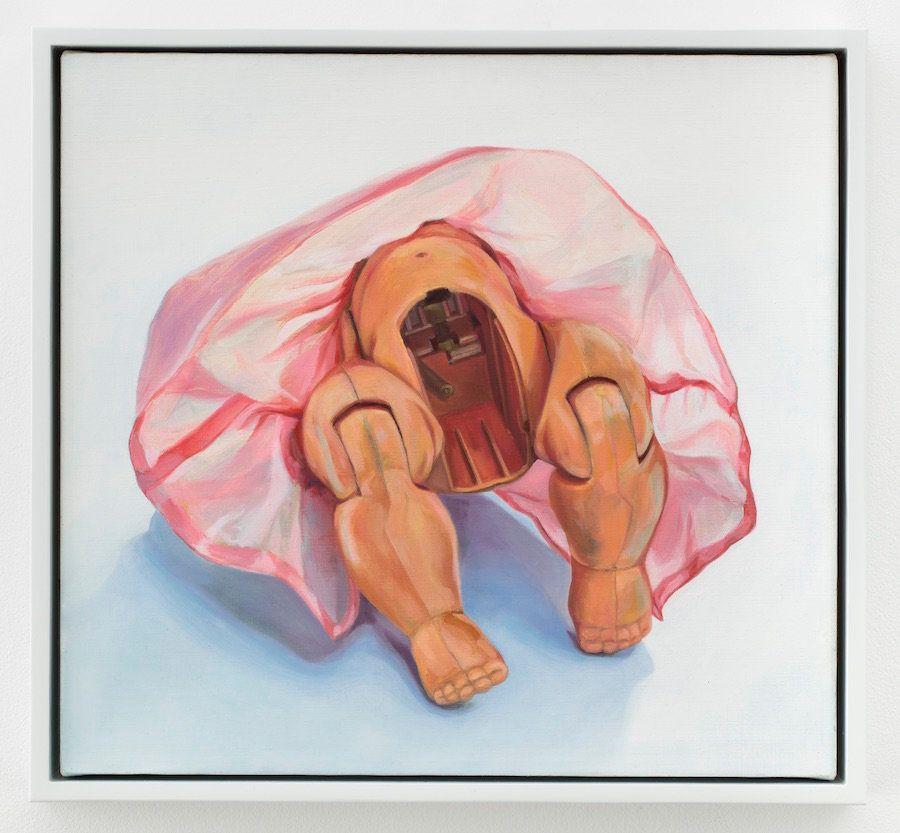 """""""Doll,"""" 2001, oil on linen"""