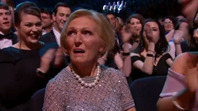 Mary Berry won Best TV Judge at the