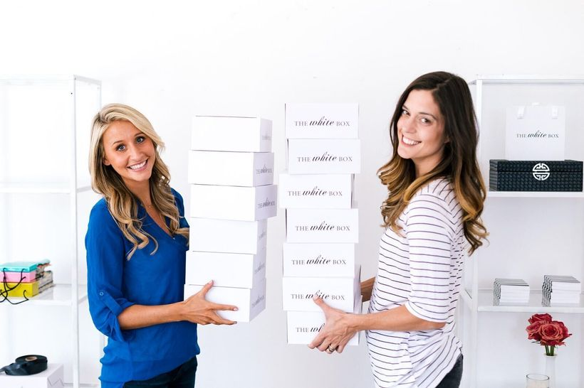 Founders Michelle Chamoures and Carrie Turner, recently launched The White Box with 15+ years of combined wedding expertise.