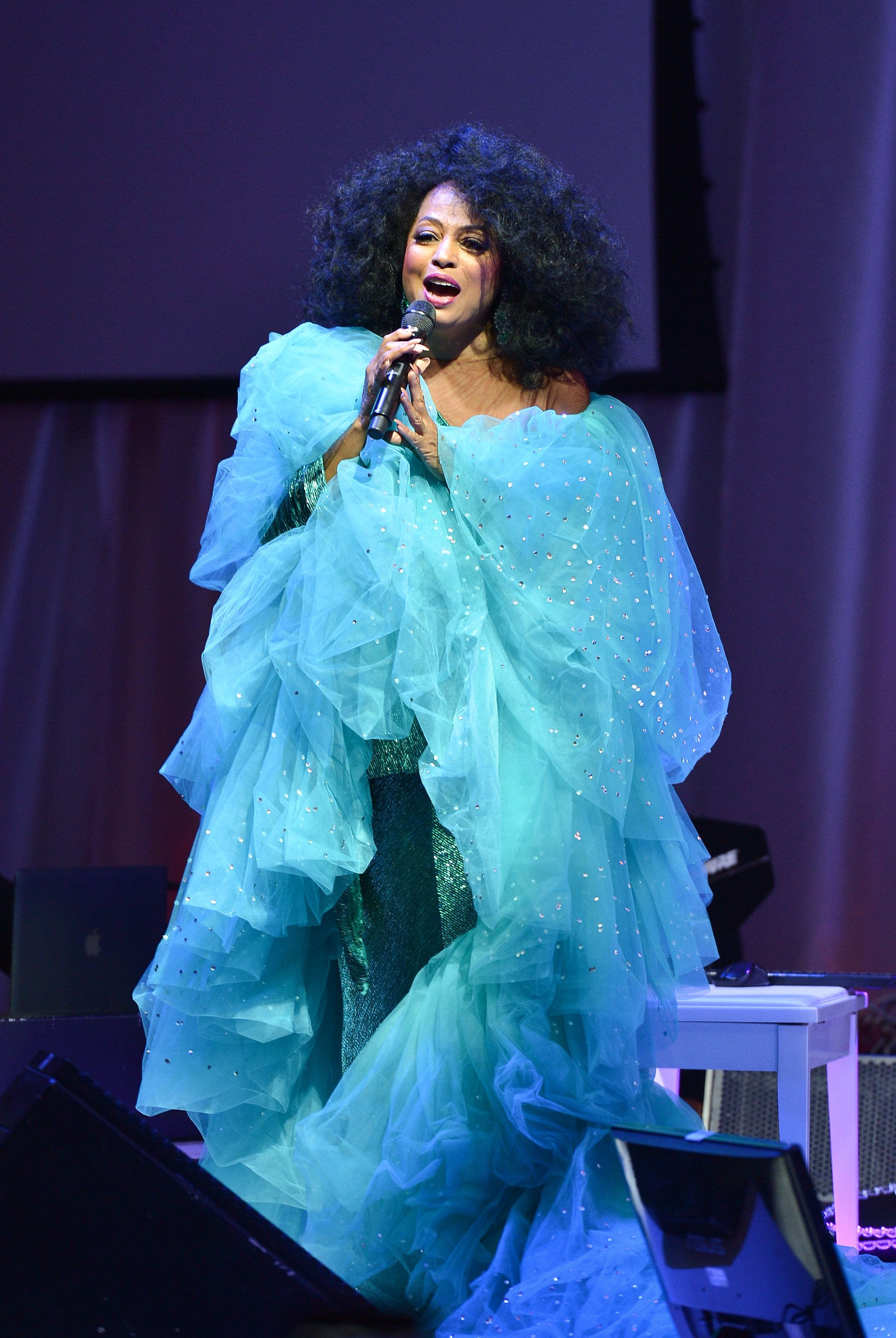 TORONTO, ON - SEPTEMBER 09:  Diana Ross  performs at the 2015 Toronto International Film Festival 'AMBI Gala' at the Four Seasons Hotel on September 9th, 2015 in Toronto, Canada.  (Photo by George Pimentel/WireImage)
