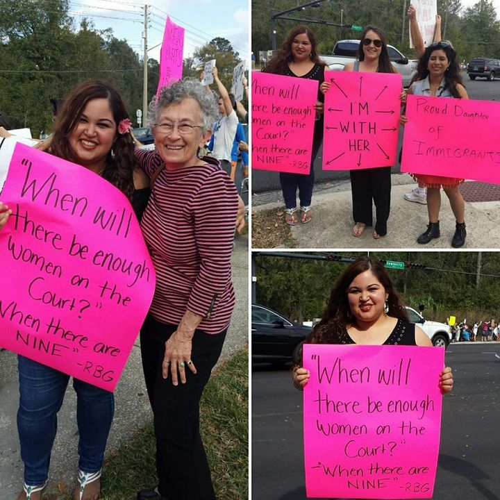 Women's Strike Protest Rally — Gainesville, Florida, January 21, 2017