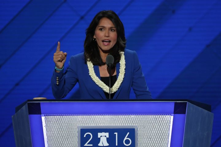Rep. Tulsi Gabbard (D-Hawaii) has been at odds with other congressional Democrats about U.S. policy toward Syria.