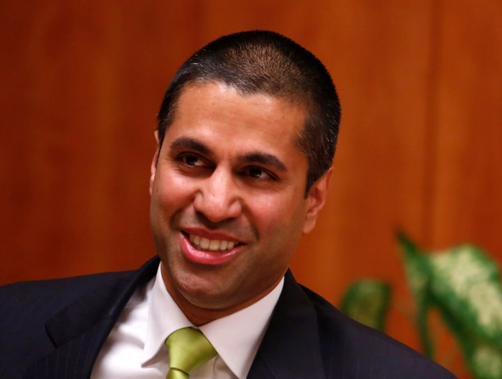 Republican Ajit Pai, a former FCC commissioner, was appointed FCC chairman by Donald Trump.