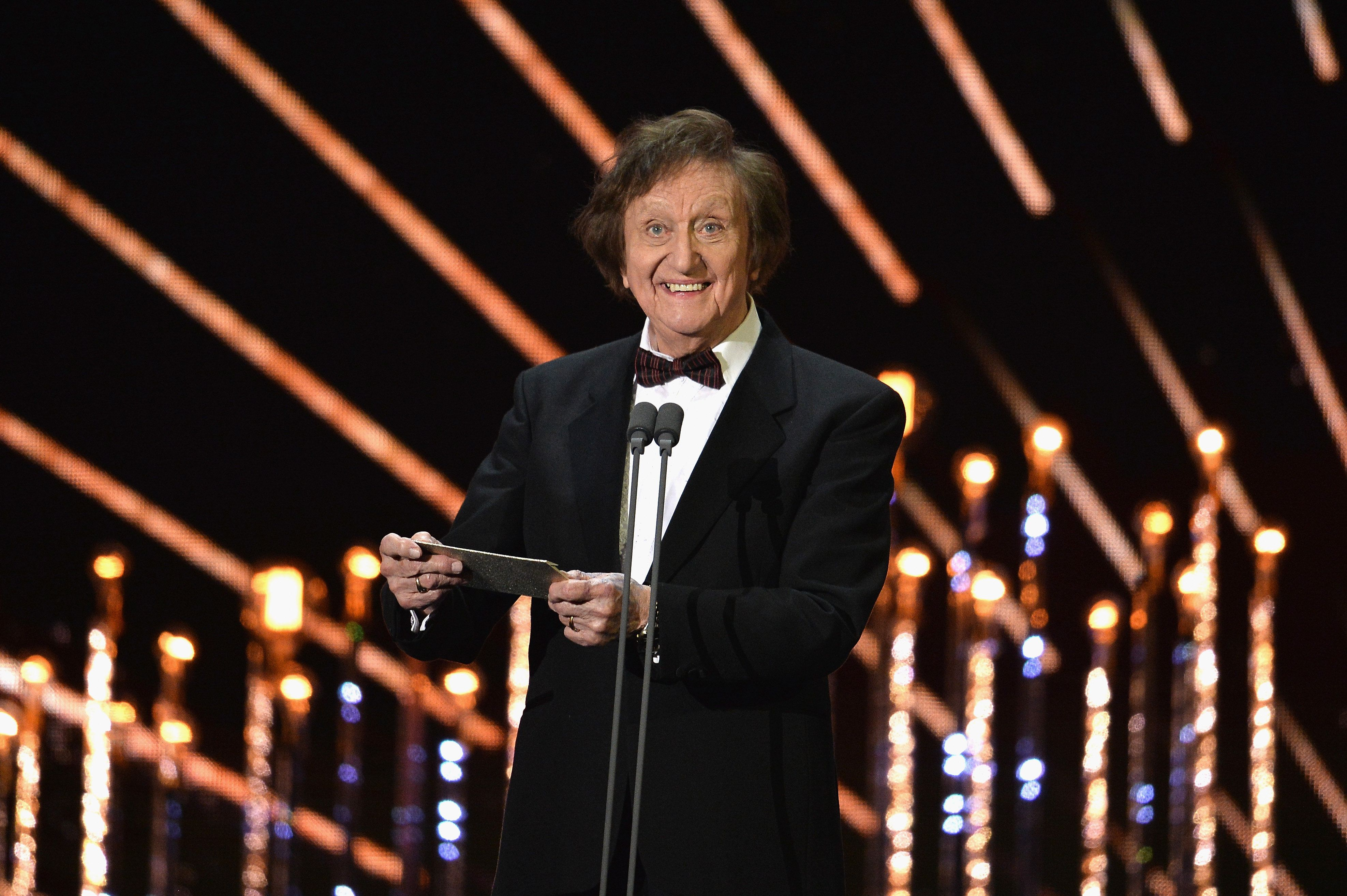 Ken Dodd Makes A Blunder At The NTAs While Reading Out Best Comedy