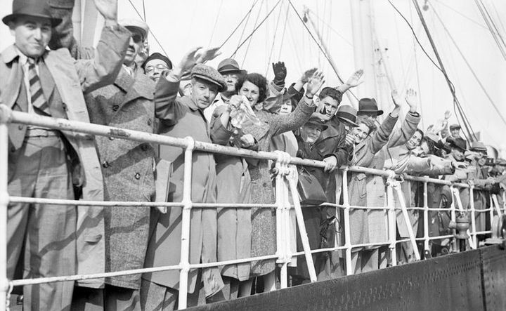 Refugees aboard the SS St. Louis